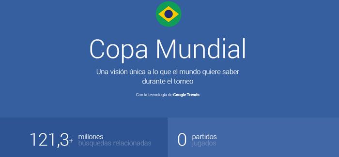 Brasil 2014 Google® Trends