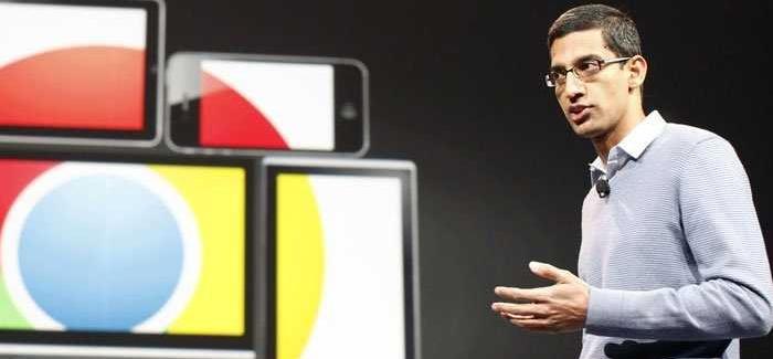 """Sundar Pichai podría exhibir el rumoreado Android® """"Lemon Pie""""."""