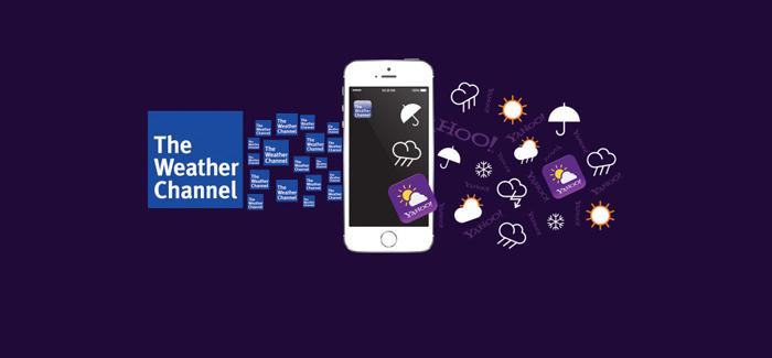 Yahoo! fue hasta este instante el proveedor de servicio del clima para Apple.