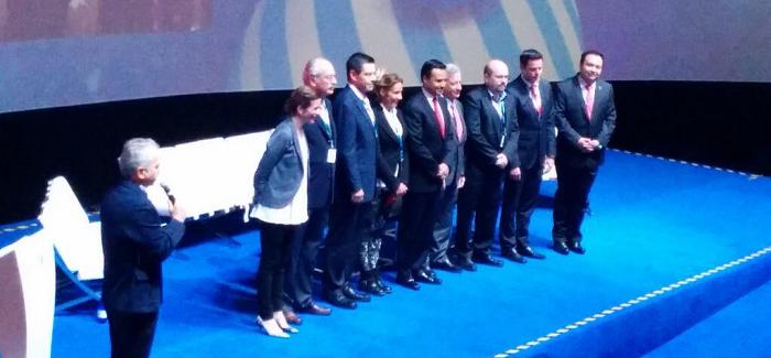 Foto oficial de la ceremonia de inauguración de #CPMX5