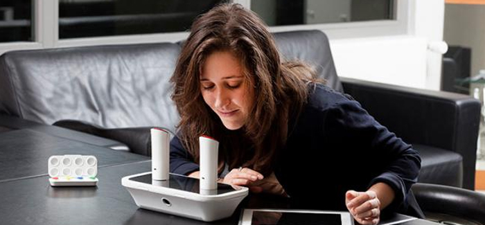 oPhone es un metodo que nos acepta observar olores de forma inalámbrica.