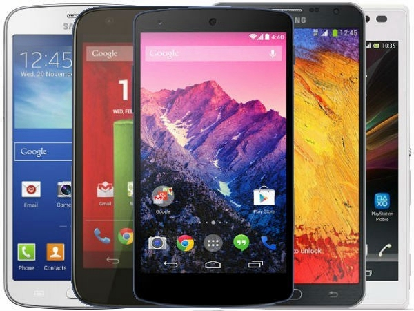 Android Smartphones 2014