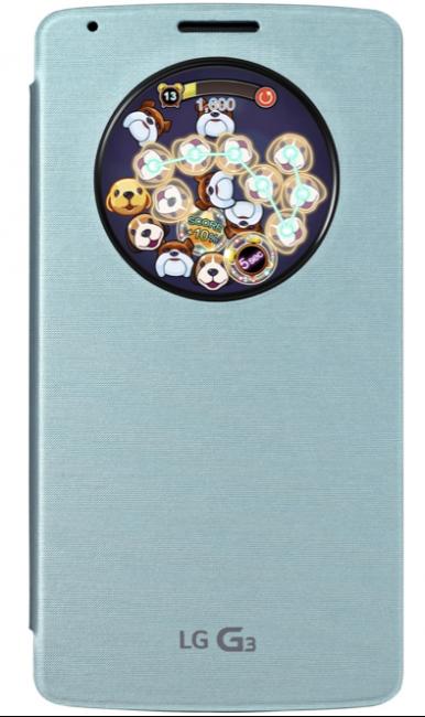 Puppy Pop, el 1° videojuego para el LG® G3 y su carcasa Quick Circle