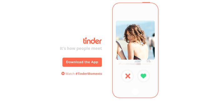 La aplicación Tinder explica al cliente a fotografias de individuos que se han dado de alta y que facilita saber masa con fines sexuales.