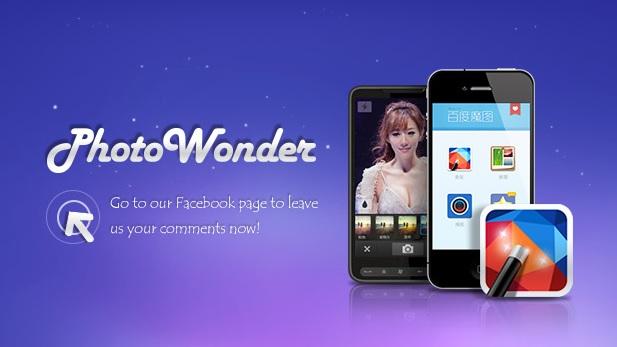 app PhotoWonder