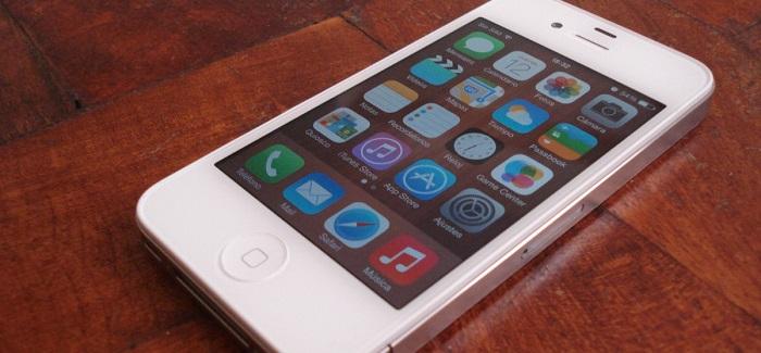 El iPhone® cuatro ha presentado un bajo cumplimiento tras la modernización a iOS® 7