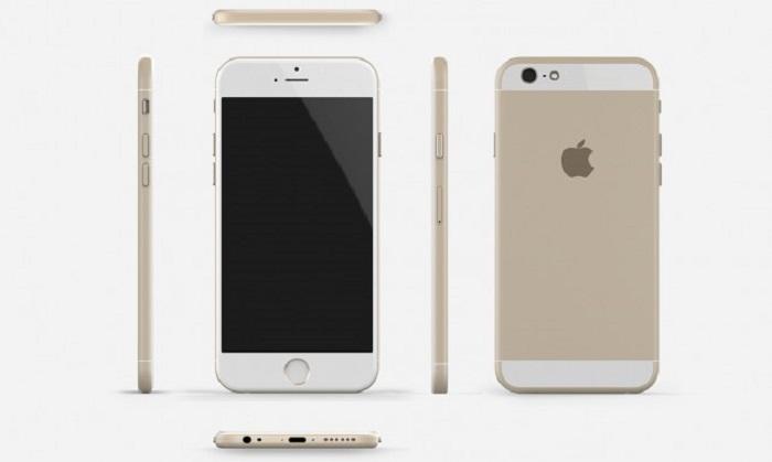 Render del iPhone® seis inventado por diseñadores a partir de las filtraciones conocidas