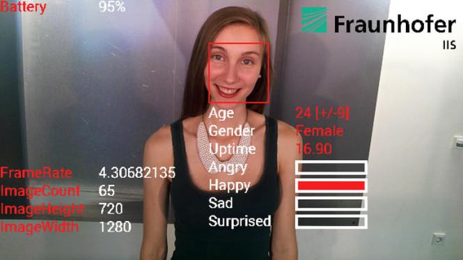 Reconocimiento facial Google Glass