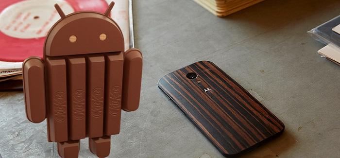 Android 4.4.3 KitKat llega oficialmente al Moto X, Moto G y Moto E.