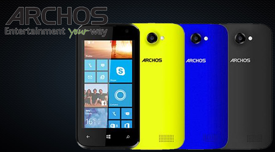 Archos 40 Cesium Windows Phone 8.1