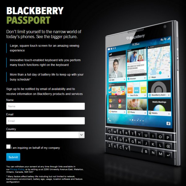 BlackBerry-Passport-Informacion