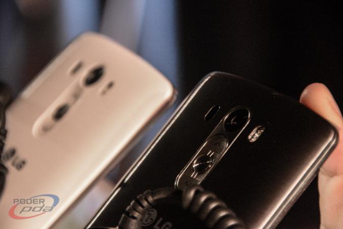 LG presume el diseño de arco flotante del LG G3
