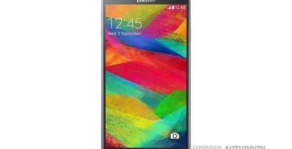 Este es el supuesto render que muestra el diseño final de la Galaxy Note 4