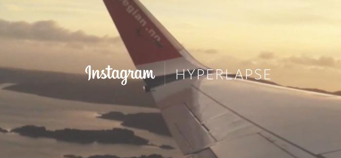 Imagen promocional de Hyperlapse