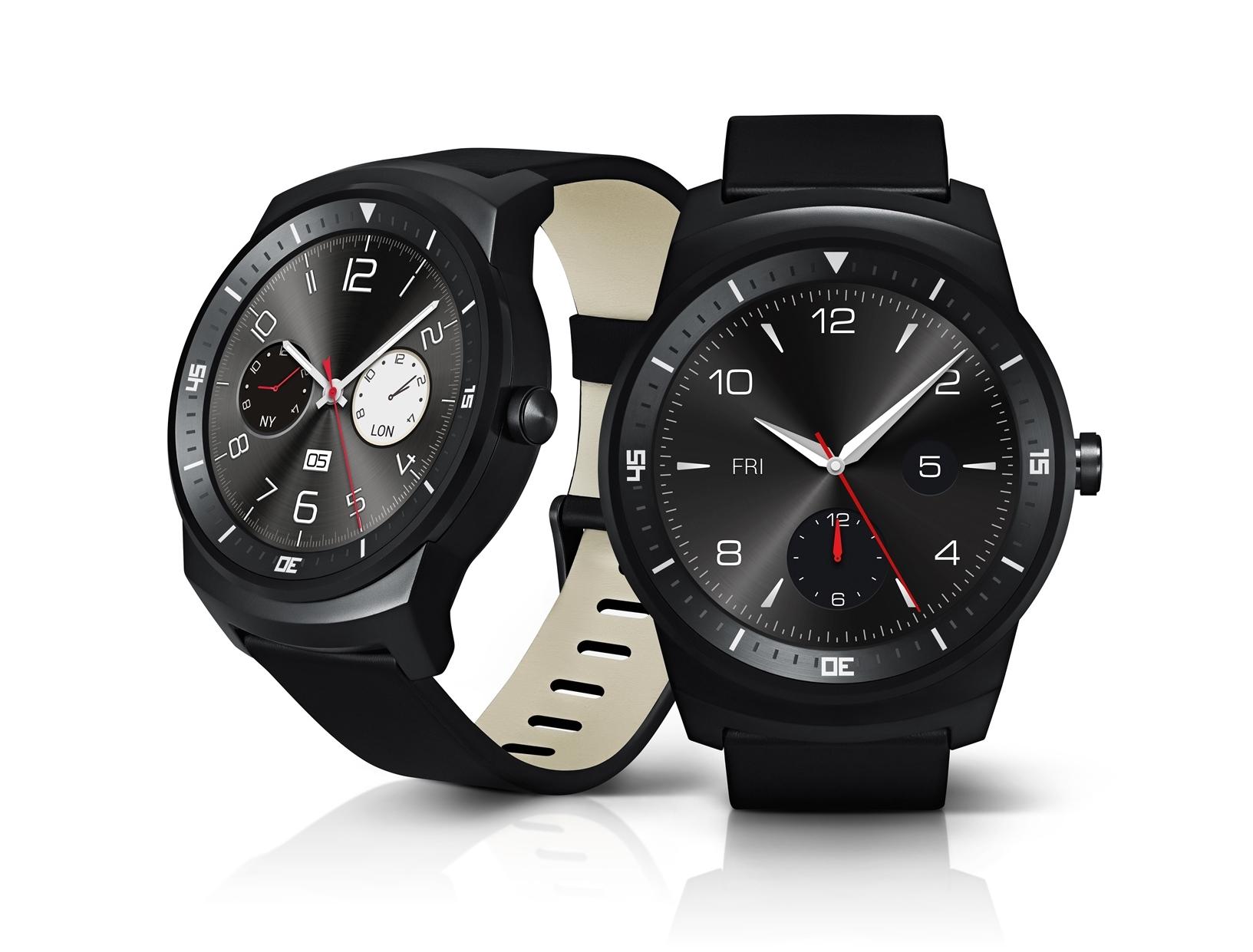 El LG® G Watch R se convierte en el 1° smartwatch con display circular