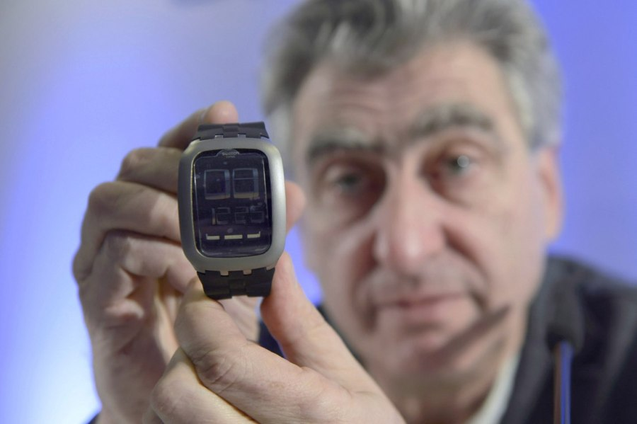 Nick Hayek, Swatch Group's CEO