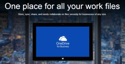 Cuentas empresariales de OneDrive
