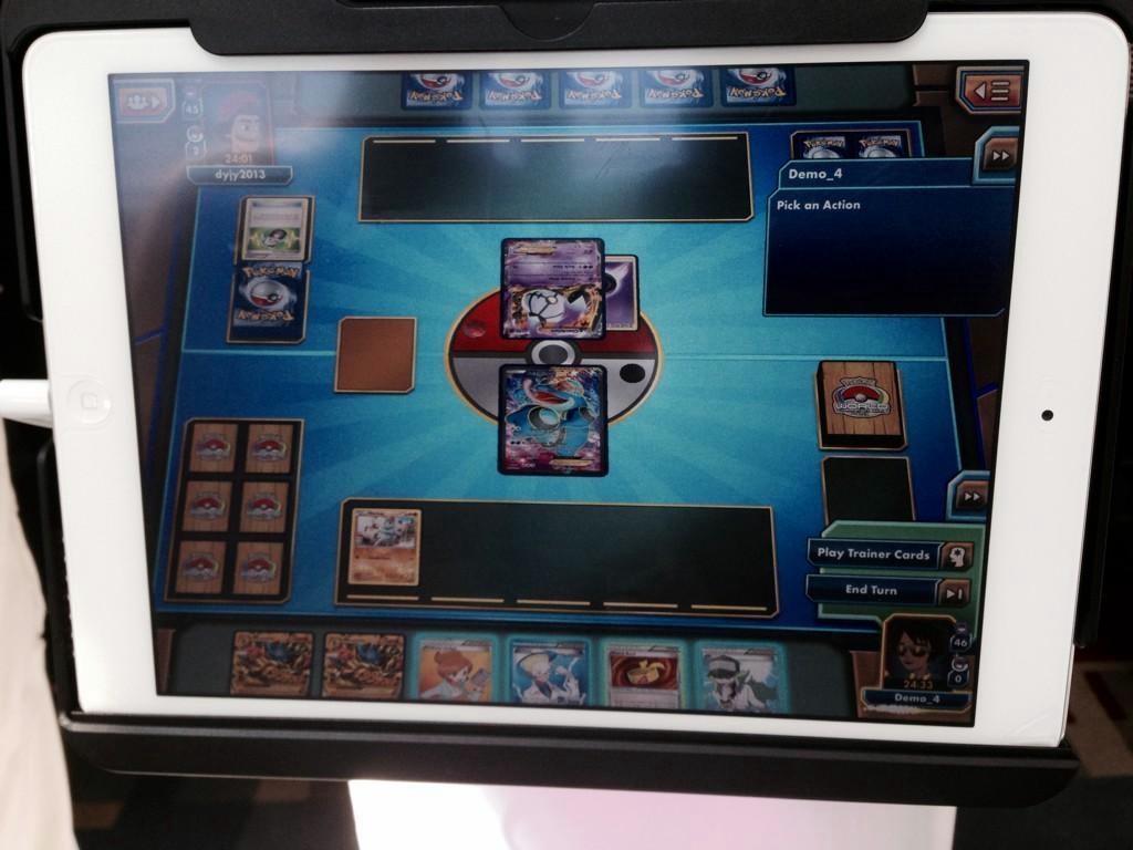 Pokemon llegará al iPad aunque solo será el TCG virtual.