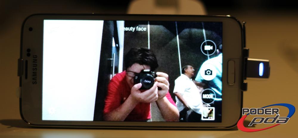 La cámara del Galaxy S5 permite funciones como el enfoque selectivo para mejorar las imágenes.
