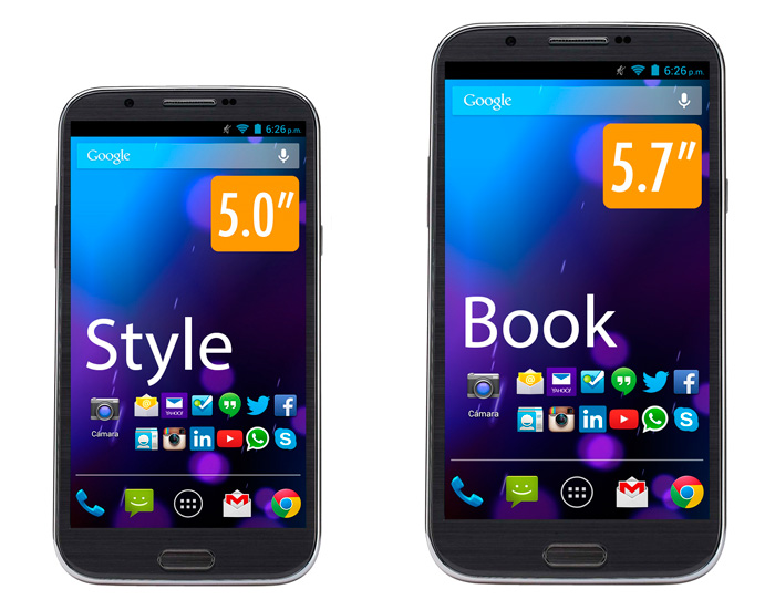 Smartphones CellAllure llegan a México