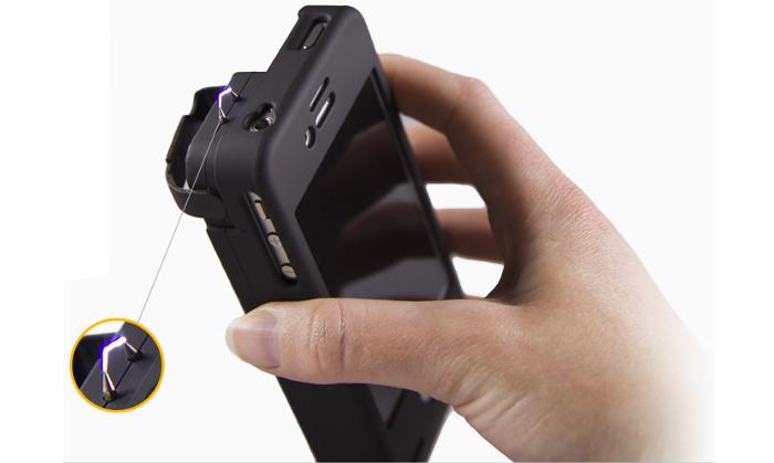 Stun-Gun-iPhone-Funda-Protector