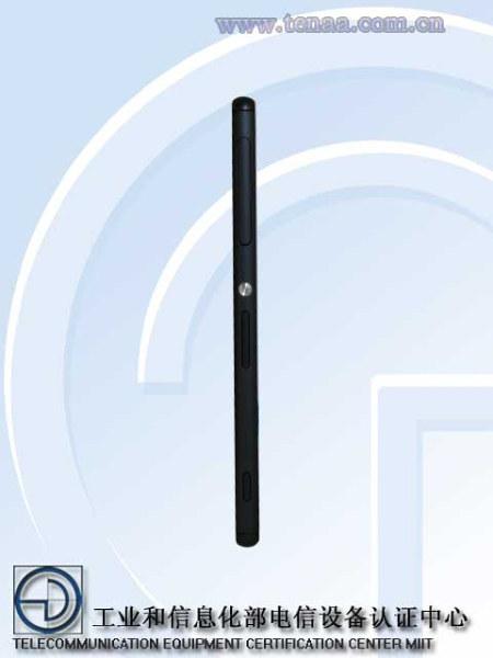 Xperia Z3 negro lateral.