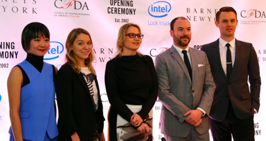 intel fashion wearable opening ceremony barneys