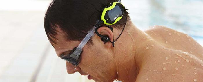 Speedo aquabeat. MP3 Player para nadar.