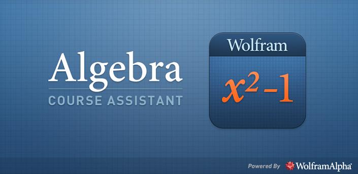 wolfram-App-algebra