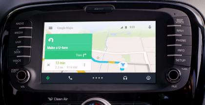 Android Auto en funcionamiento