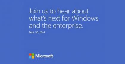 Invitacion a evento de Microsoft septiembre 30