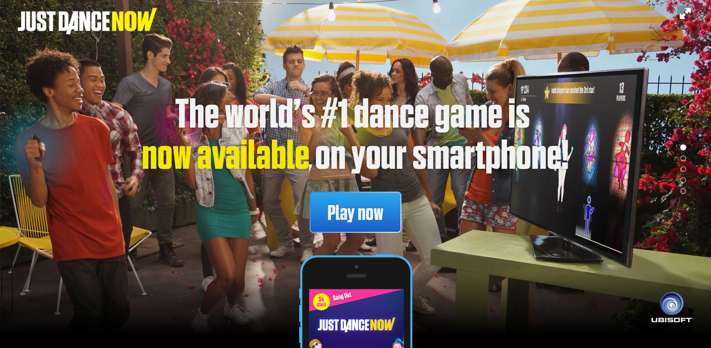 Just Dance Now-play