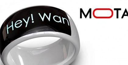 Mota SmartRing: Notificaciones como anillo al dedo