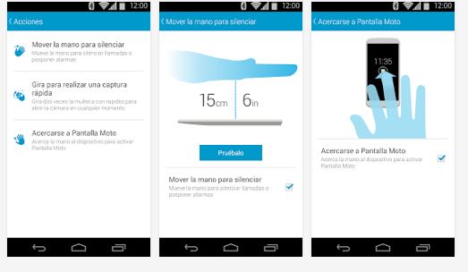 Moto actions-acciones Moto