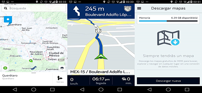 NOKIA HERE MAPS BETA 3