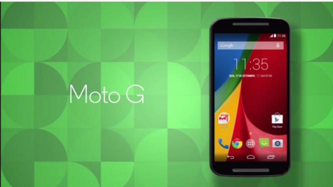 Aspecto del Nuevo Moto G de Motorola