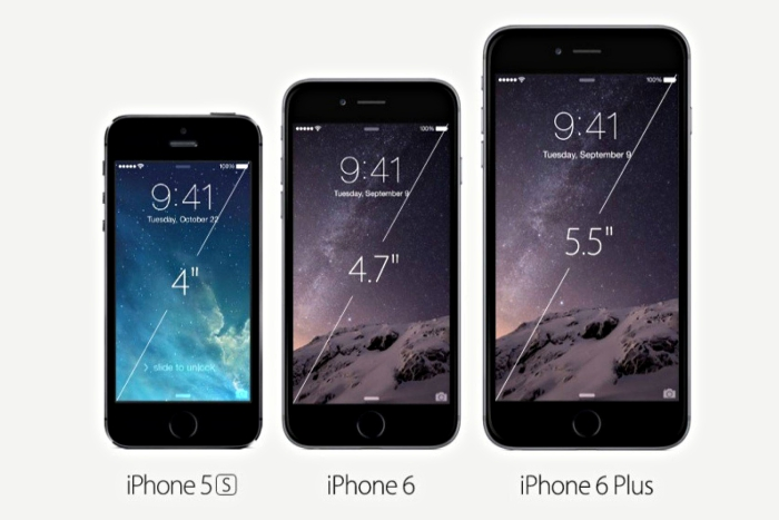 iPhone 6 & 6 Plus: Más detalles sobre sus pantallas
