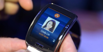 Samsung Gear S llamada