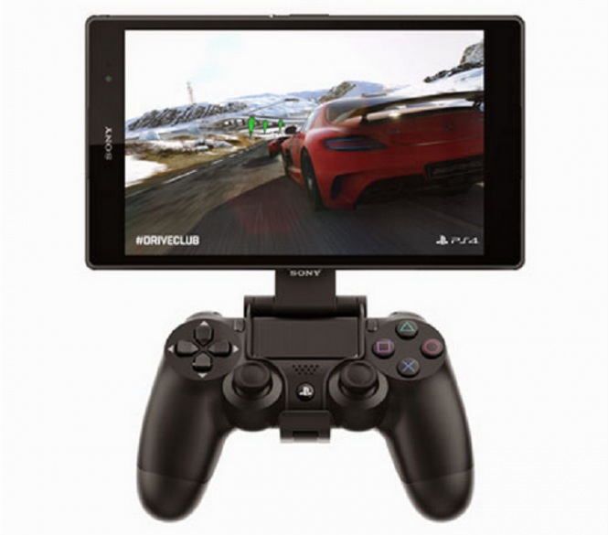 Xperia Z3 Tablet Compact en modo Remote Play