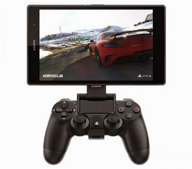Xperia Z3 Tablet Compact en modo Remote Play