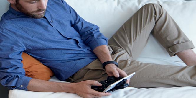 Xperia Z3 en uso con DualShock 4