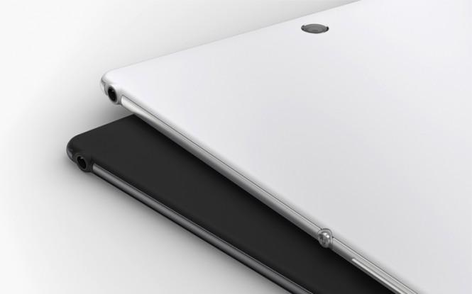 Z3 Tablet Compact atrás.