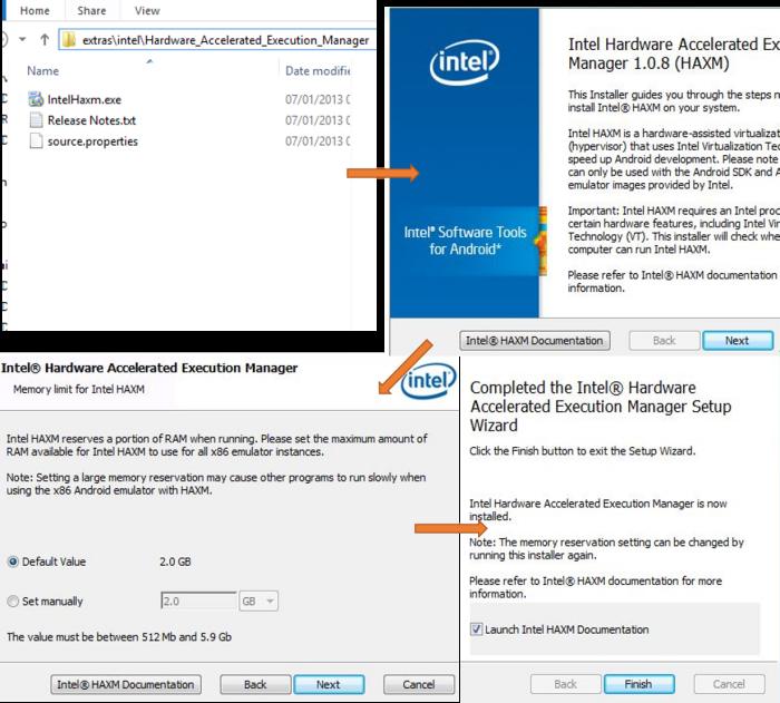 Instalación del acelerador Intel