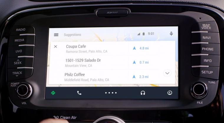 Android auto un vistazo al dise o de sus aplicaciones for Aplicaciones para android auto