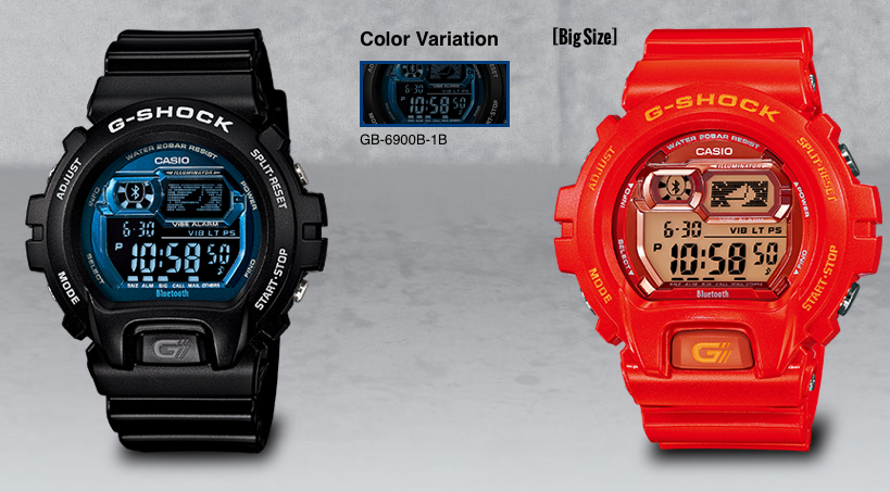 casio-GShock-GB6900B-rojo