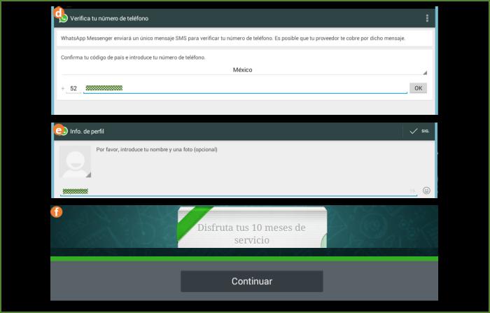 Finalizando la Configuración de  Whatsapp