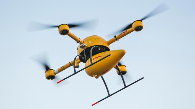 El drone de DHL esta listo para sus primeras entregas esta semana