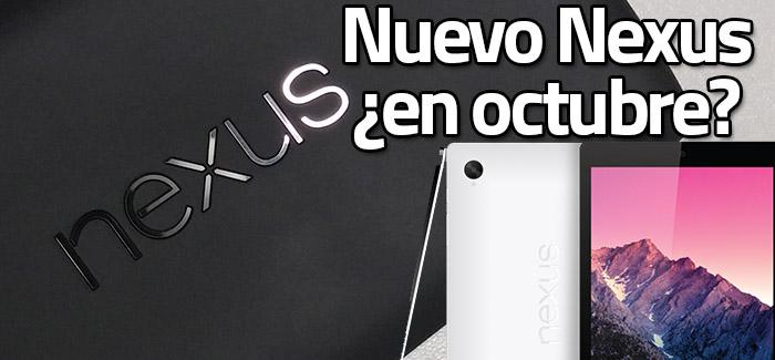 Anuncio Nexus en Octubre