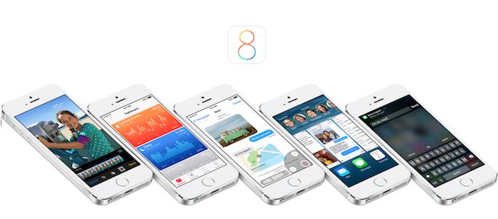 iOS 8 Banner