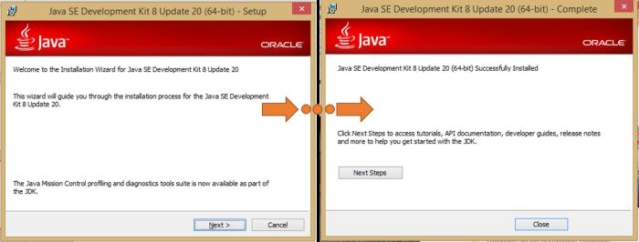 Instalación del JDK Java